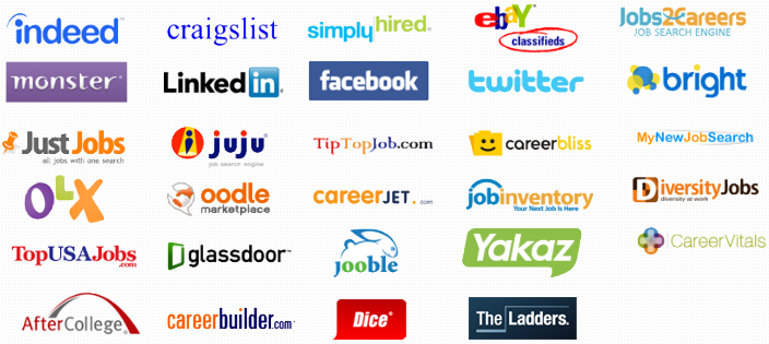 list of job sites