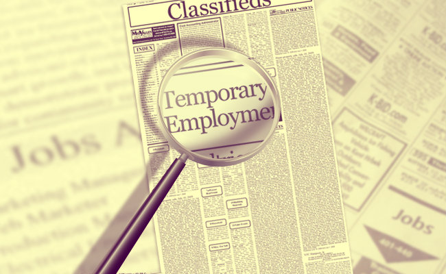 why to take a temporary job