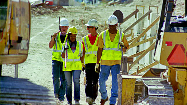 Construction laborers
